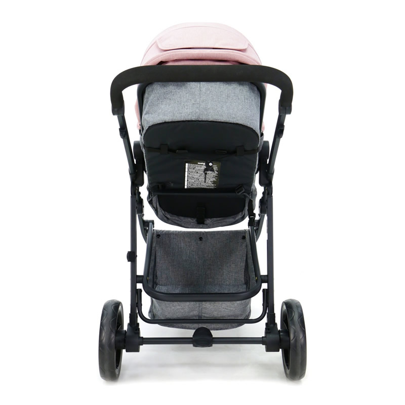 Carucior 3 in 1 Asalvo CONVERTIBLE TWO pink 11