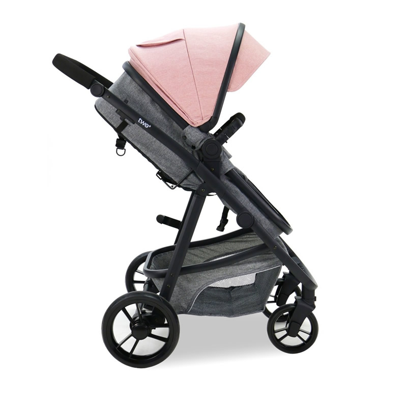 Carucior 3 in 1 Asalvo CONVERTIBLE TWO pink 4