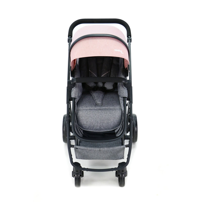 Carucior 3 in 1 Asalvo CONVERTIBLE TWO pink 5