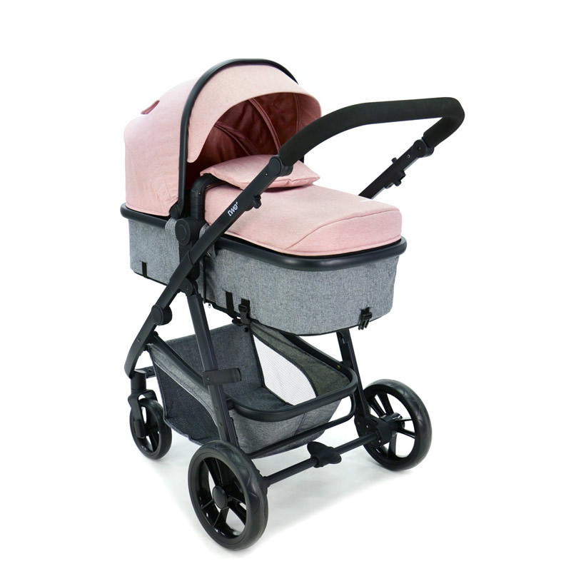 Carucior 3 in 1 Asalvo CONVERTIBLE TWO pink 7