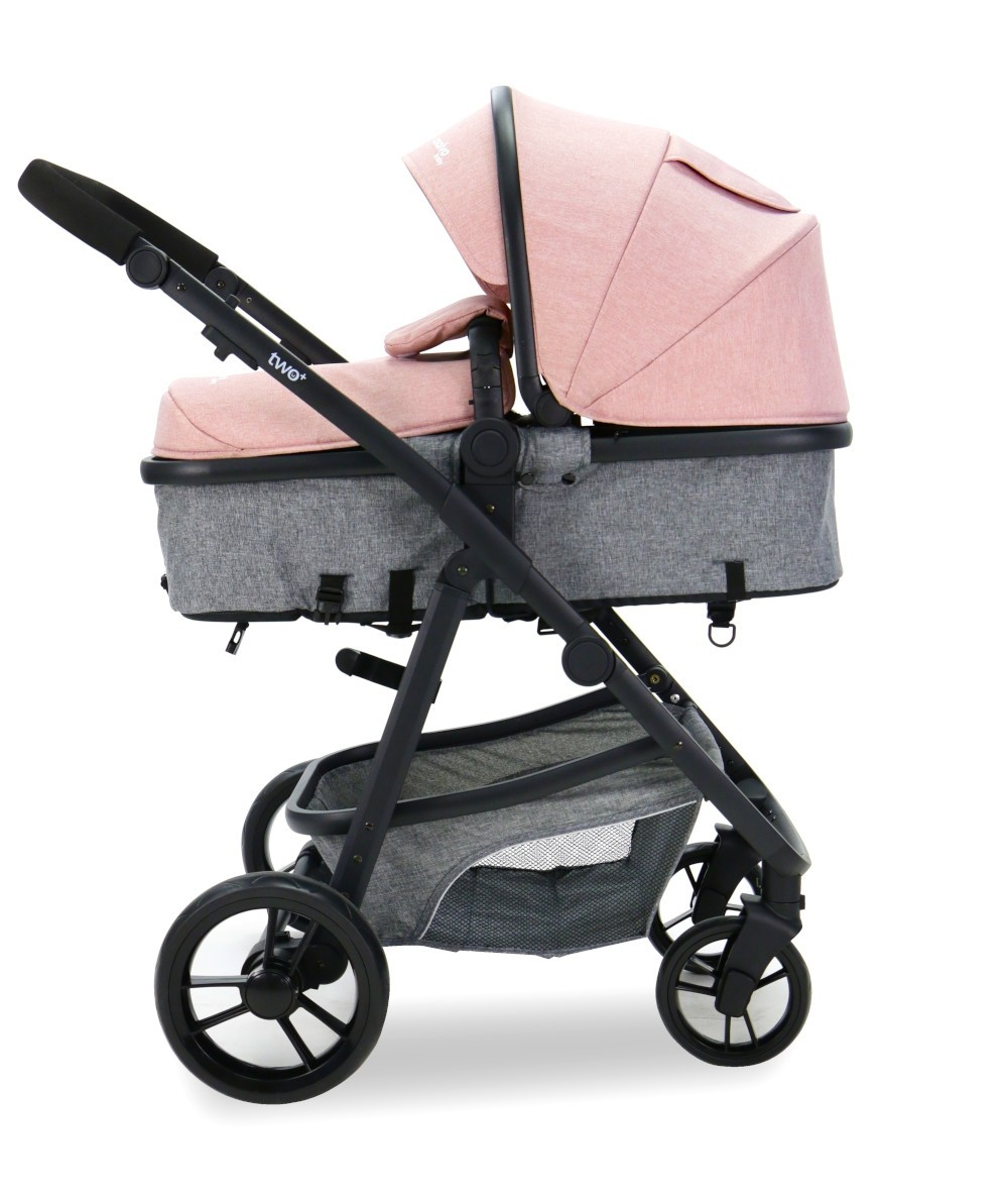 Carucior 3 in 1 Asalvo CONVERTIBLE TWO pink 8