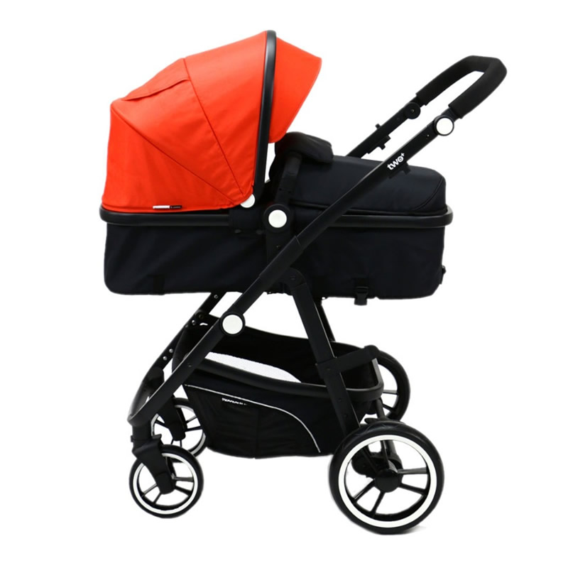 Carucior 3 in 1 Asalvo CONVERTIBLE TWO red 1