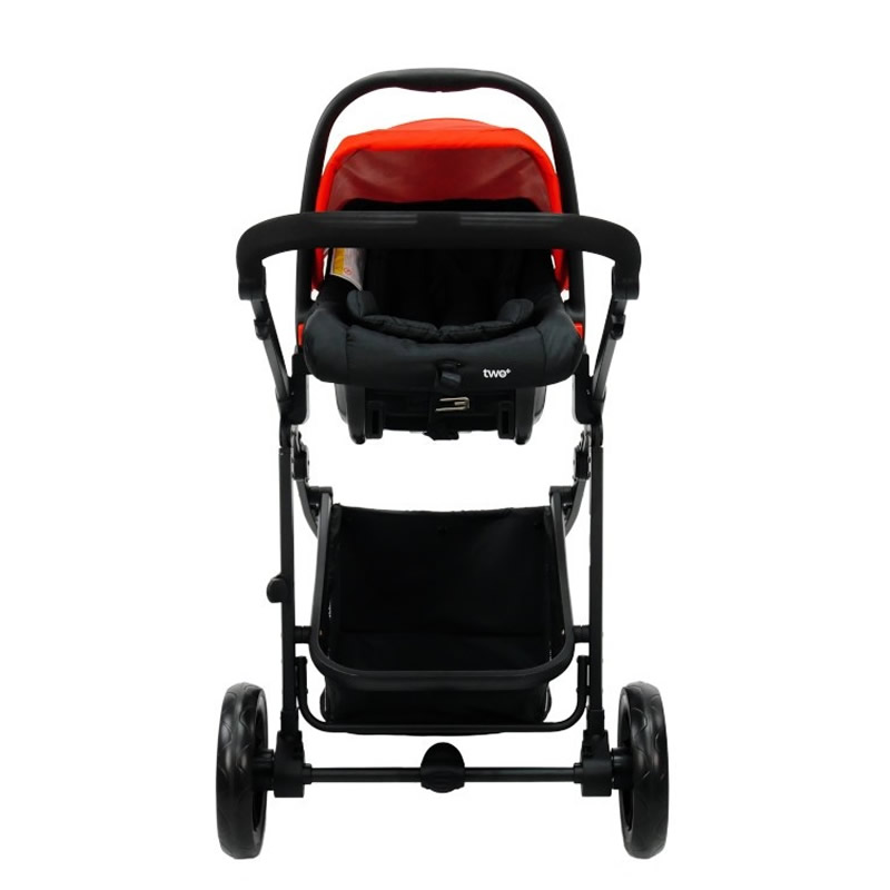 Carucior 3 in 1 Asalvo CONVERTIBLE TWO red 10