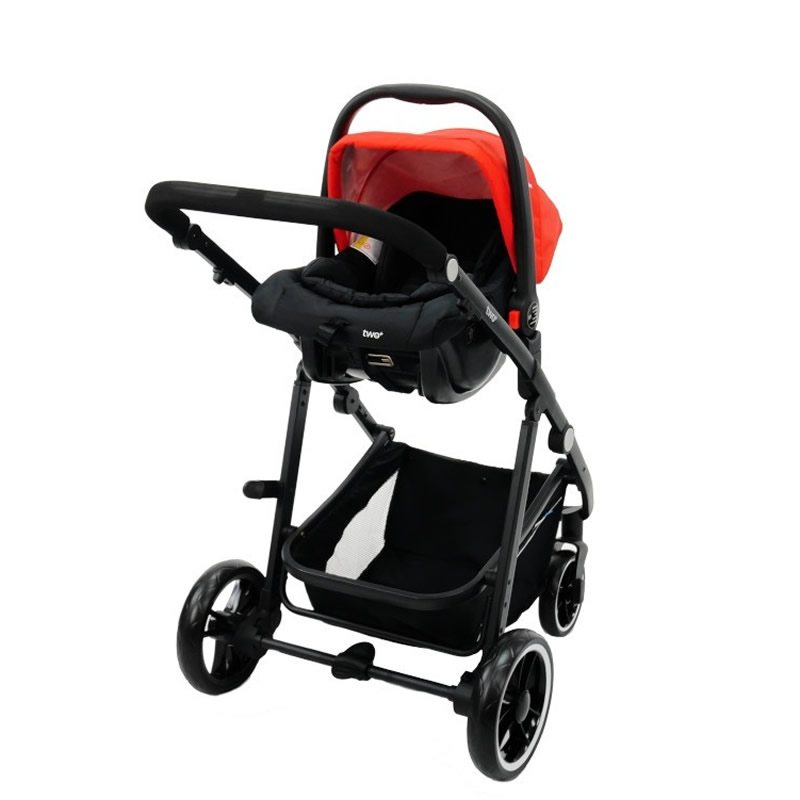 Carucior 3 in 1 Asalvo CONVERTIBLE TWO red 11