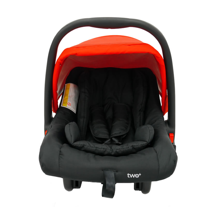 Carucior 3 in 1 Asalvo CONVERTIBLE TWO red 15