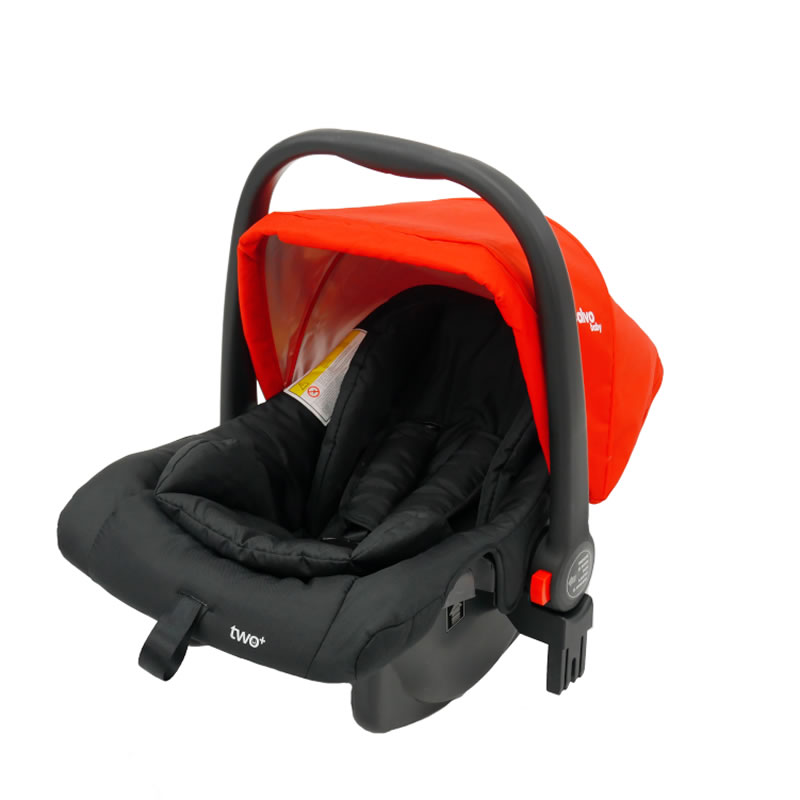 Carucior 3 in 1 Asalvo CONVERTIBLE TWO red 17