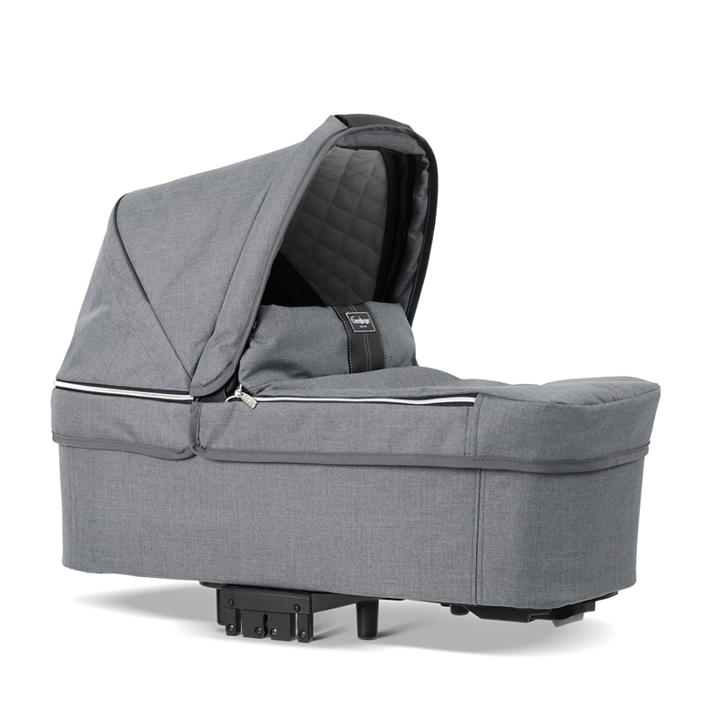 Pachet carucior 2 in 1 Emmaljunga NXT90 Ergo Lounge Eco Grey 5