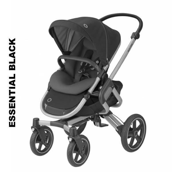 Pachet carucior Nova 4 Maxi Cosi 3 in 1 essential black 1