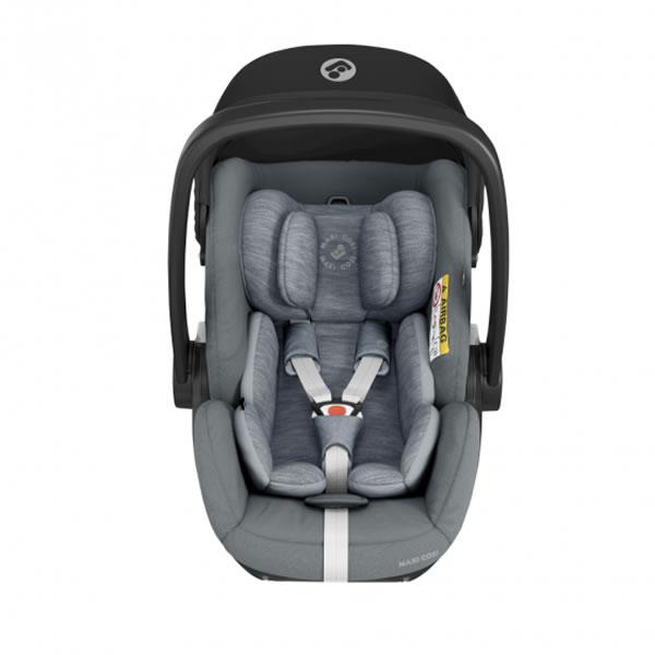 Scoica auto inclinabila i Size Maxi Cosi Marble cu baza isofix Essential grey 3