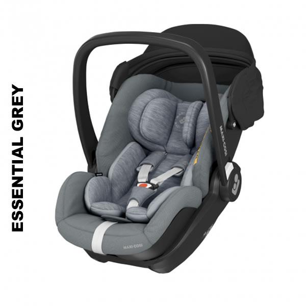 Scoica auto inclinabila i-Size Maxi-Cosi Marble cu baza isofix Essential grey