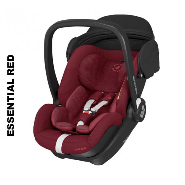 Scoica auto inclinabila i-Size Maxi-Cosi Marble cu baza isofix Essential red