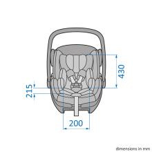 Scoica auto inclinabila i Size Maxi Cosi Marble cu baza isofix z 10