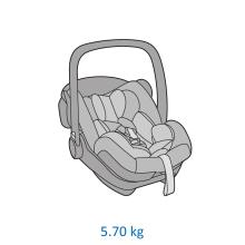 Scoica auto inclinabila i Size Maxi Cosi Marble cu baza isofix z 15