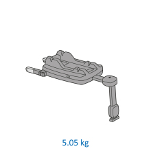 Scoica auto inclinabila i Size Maxi Cosi Marble cu baza isofix z 16