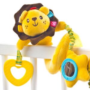 Spirala cu jucarii pentru carucior si patut Sensillo Lion 1