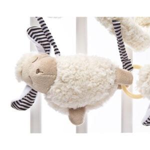 Spirala cu jucarii pentru carucior si patut Sensillo Sheep 1