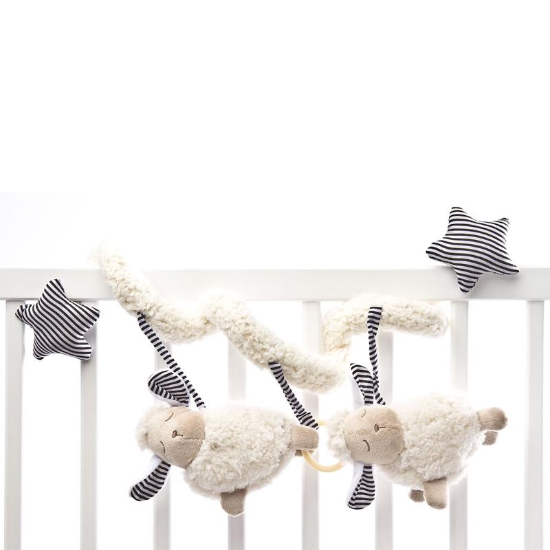 Spirala cu jucarii pentru carucior si patut Sensillo Sheep