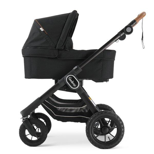 pachet carucior 2 in 1 emmaljunga nxt90 ergo outdoor air Eco Black 1