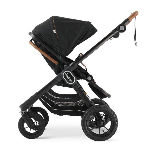 pachet carucior 2 in 1 emmaljunga nxt90 ergo outdoor air Eco Black 3