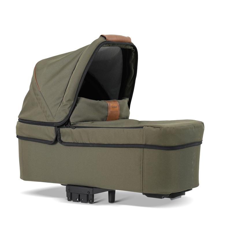 pachet carucior 2 in 1 emmaljunga nxt90 flat outdoor air Eco Olive 4