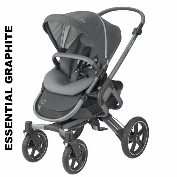 pachet carucior nova 4 maxi cosi essential graphite 0