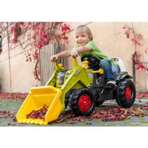 Buldozer cu pedale si cupa Rolly Toys RollyKid Elios CLAAS 230 1