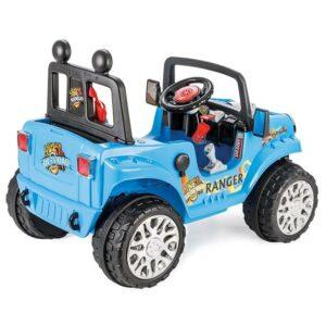 Jeep electric cu telecomanda Pilsan RANGER 12V albastru 1