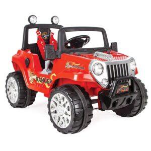 Jeep electric cu telecomanda Pilsan RANGER 12V rosu