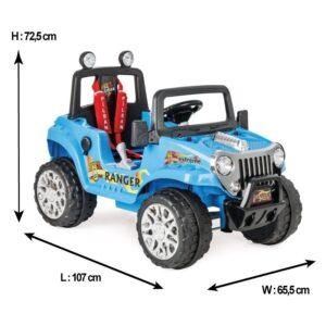 Jeep electric cu telecomanda Pilsan RANGER 12V z