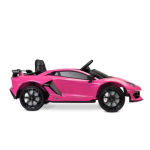Masinuta electrica cu telecomanda Toyz Lamborghini Aventador SVJ 12V pink 1