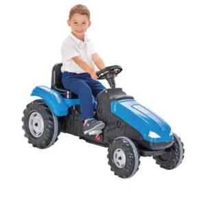 Tractor cu pedale Pilsan MEGA albastru 1