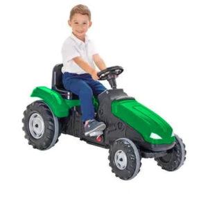 Tractor cu pedale Pilsan MEGA verde 1