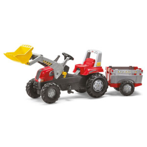 Tractor cu pedale remorca si cupa Rolly Toys RollyJunior 3 8 ani