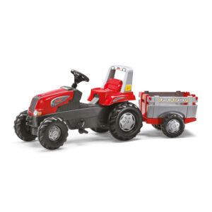 Tractor cu pedale si remorca Rolly Toys RollyJunior 3 8 ani