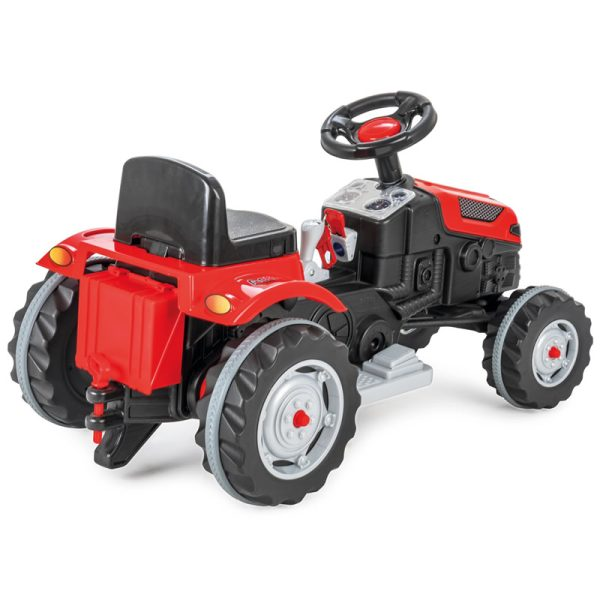 Tractor electric Pilsan ACTIVE 6V rosu 1