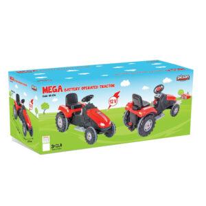 Tractor electric Pilsan MEGA 12V rosu 1