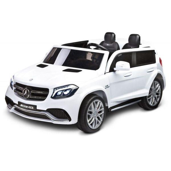 Masina electrica Toyz MERCEDES GLS63 AMG 12V cu telecomanda alba