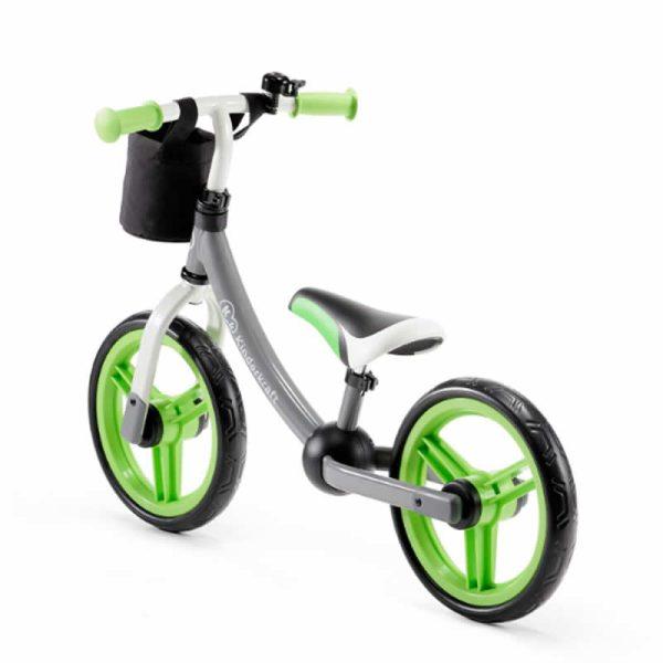 Bicicleta fara pedale 2Way Next Kinderkraft green grey 2