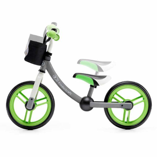 Bicicleta fara pedale 2Way Next Kinderkraft green grey 6