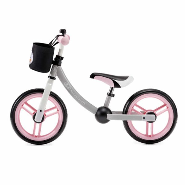 Bicicleta fara pedale 2Way Next Kinderkraft light pink 2