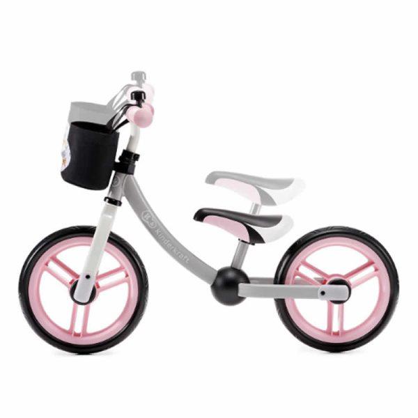 Bicicleta fara pedale 2Way Next Kinderkraft light pink 6