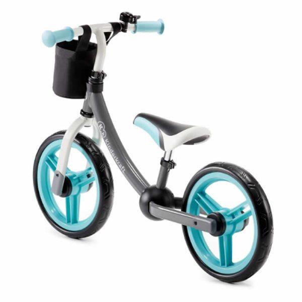 Bicicleta fara pedale 2Way Next Kinderkraft turquoise 1