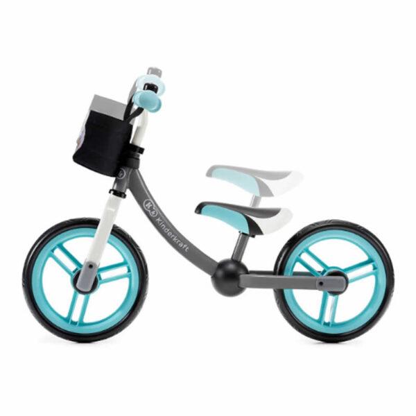 Bicicleta fara pedale 2Way Next Kinderkraft turquoise 2