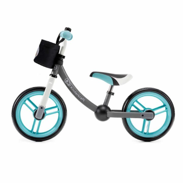Bicicleta fara pedale 2Way Next Kinderkraft turquoise 3