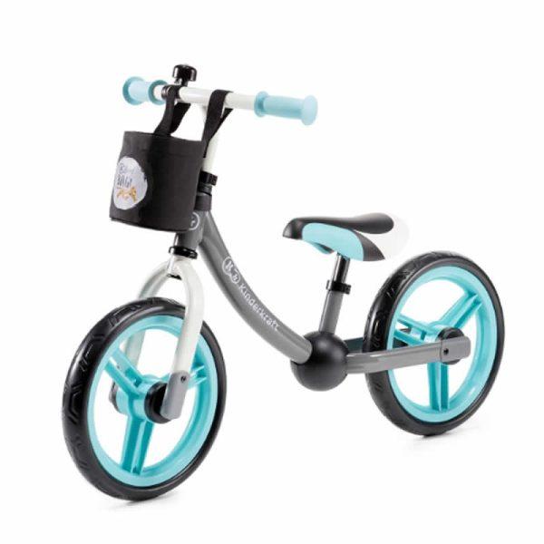 Bicicleta fara pedale 2Way Next Kinderkraft turquoise