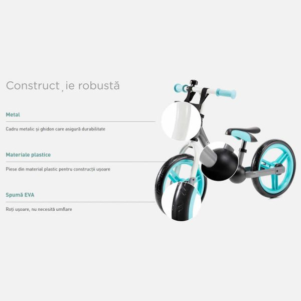 Bicicleta fara pedale 2Way Next Kinderkraft z 7