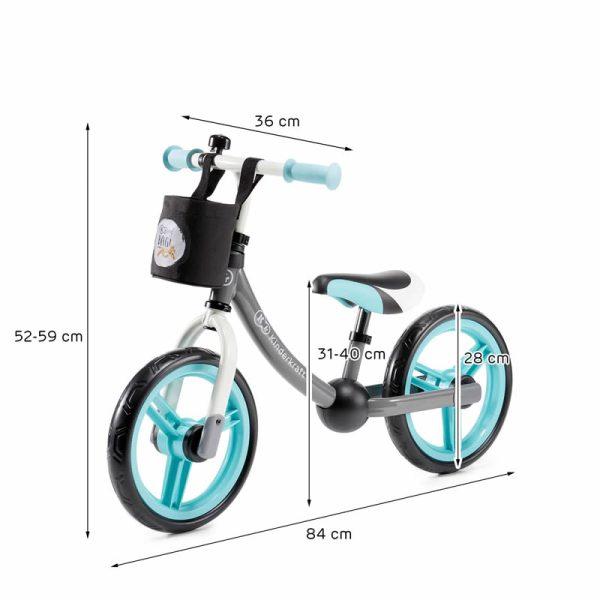 Bicicleta fara pedale 2Way Next Kinderkraft z 8