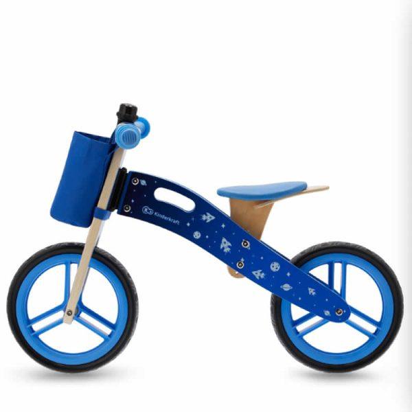 Bicicleta fara pedale RUNNER kinderkraft GALAXY BLUE 1