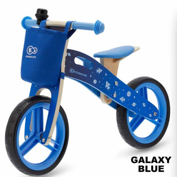Bicicleta fara pedale RUNNER kinderkraft GALAXY BLUE