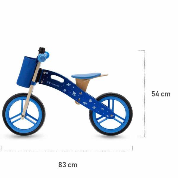 Bicicleta fara pedale RUNNER kinderkraft z 13